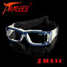 Panlees Unisex Prescription PC protective fashion basketball anti-impact sport goggles optical eye glasses