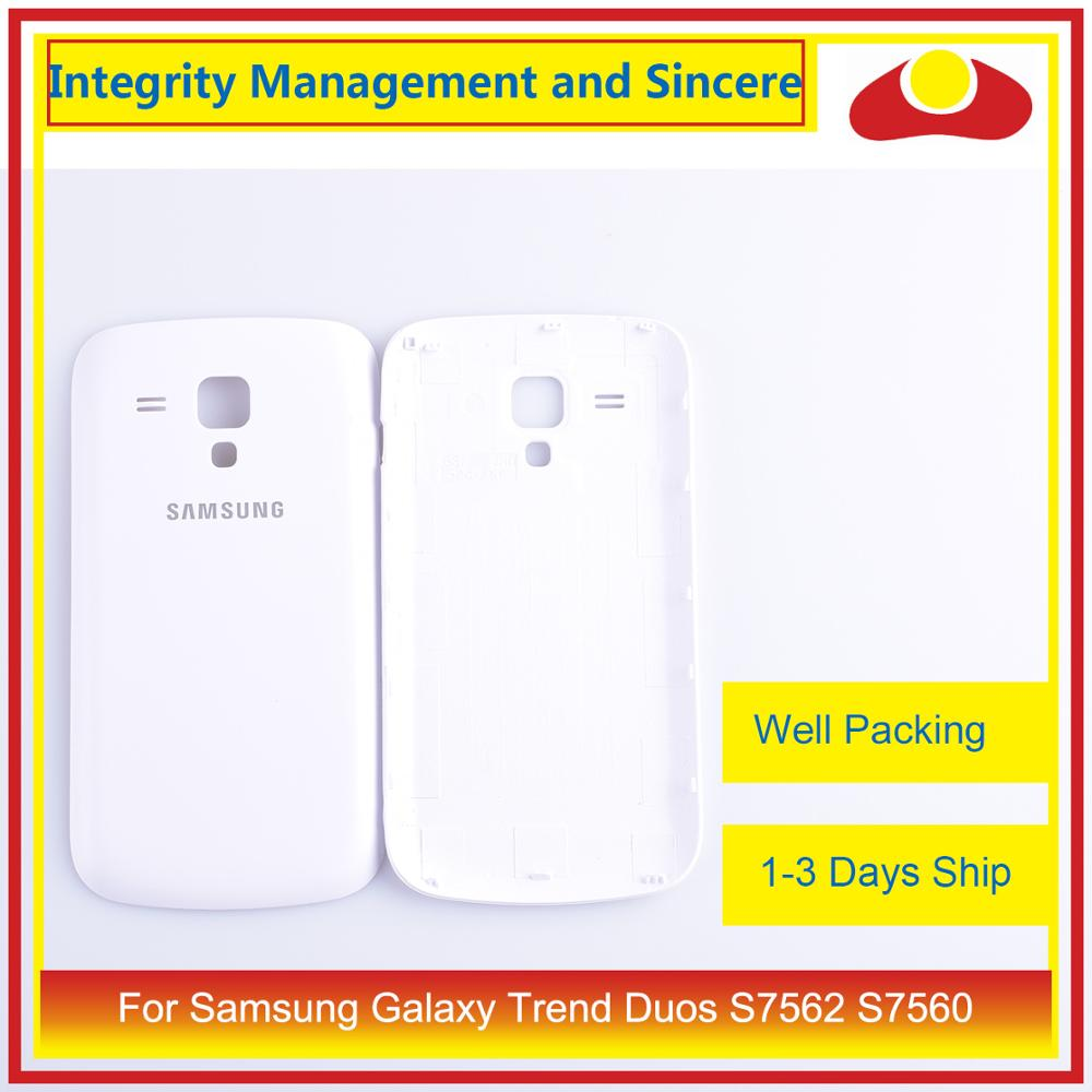 Image 2 - 10Pcs/lot For Samsung Galaxy Trend Duos S7562 7562 S7560 7560 Housing Battery Door Rear Back Cover Case Chassis Shell-in Mobile Phone Housings & Frames from Cellphones & Telecommunications