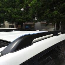 Автомобиль Интимные аксессуары черный Цвет алюминиевый сплав Спойлеры бар на крыше несущей стойки Чемодан набор кадров для Land Cruiser LC200 2008 -2016