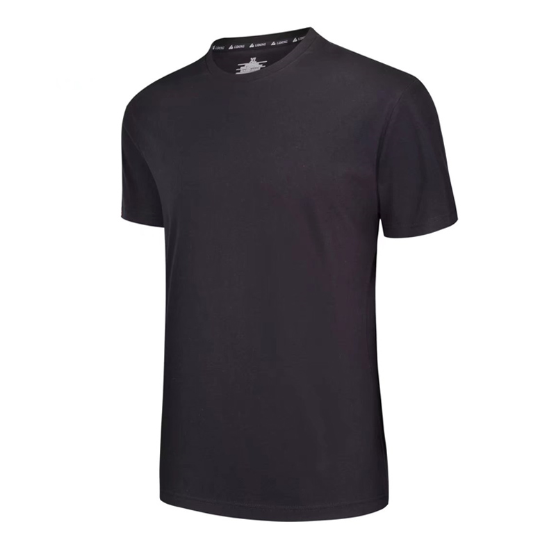 mens sports t shirt gym men Cotton short sleeve brand tshirts black top mens summer sports t shirt gym top running shirt men
