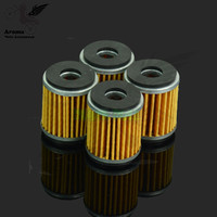 1 set of 4 PCS air systems motocross air filter motorbike air cleaner for yamaha YZF WRF YFM 125 250 450 pit bike air filter
