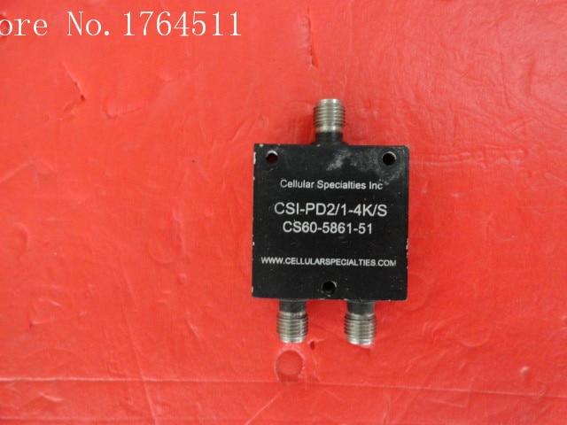 [BELLA] A Two CSI Power Divider CSI-PD2/1-4K/S SMA