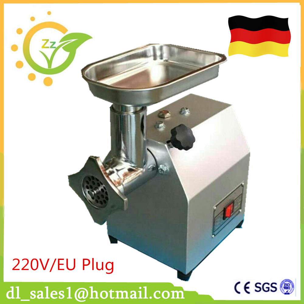 Stainless Steel Multifunctional Meat Grinder Commercial Electric Cutter Cutting Meat Machine Sliced Meat Shredded Sausage Maker household appliances electric meat grinder stainless steel meat grinder fully automatic broken vegetables ground meat