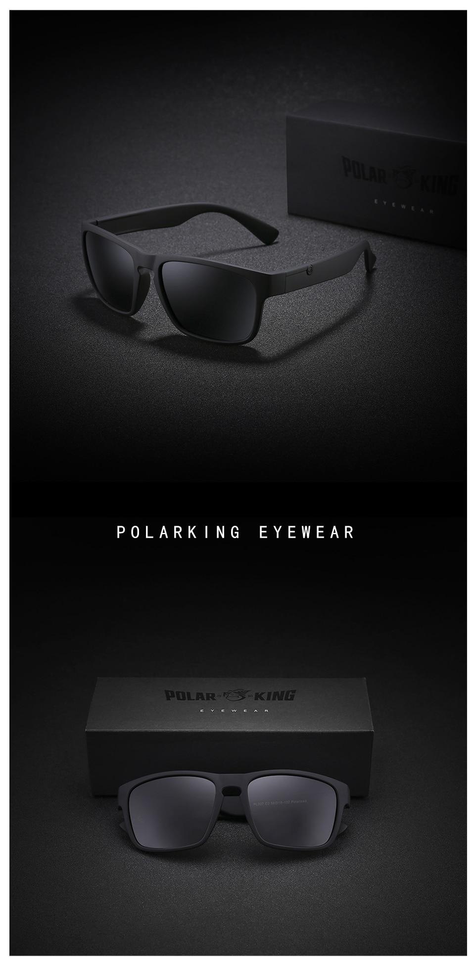 a85e0d559df POLARKING Brand Polarized Sunglasses For Men Wayfarer Oculos de sol ...