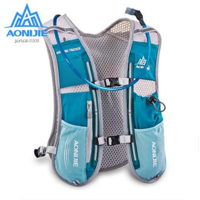 AONIJIE Women Men 5L Lightweight Running Backpack Outdoor Sports Trail Racing Marathon Hiking <font><b>Hydration</b></font> Vest Pack 1.5L Water Bag