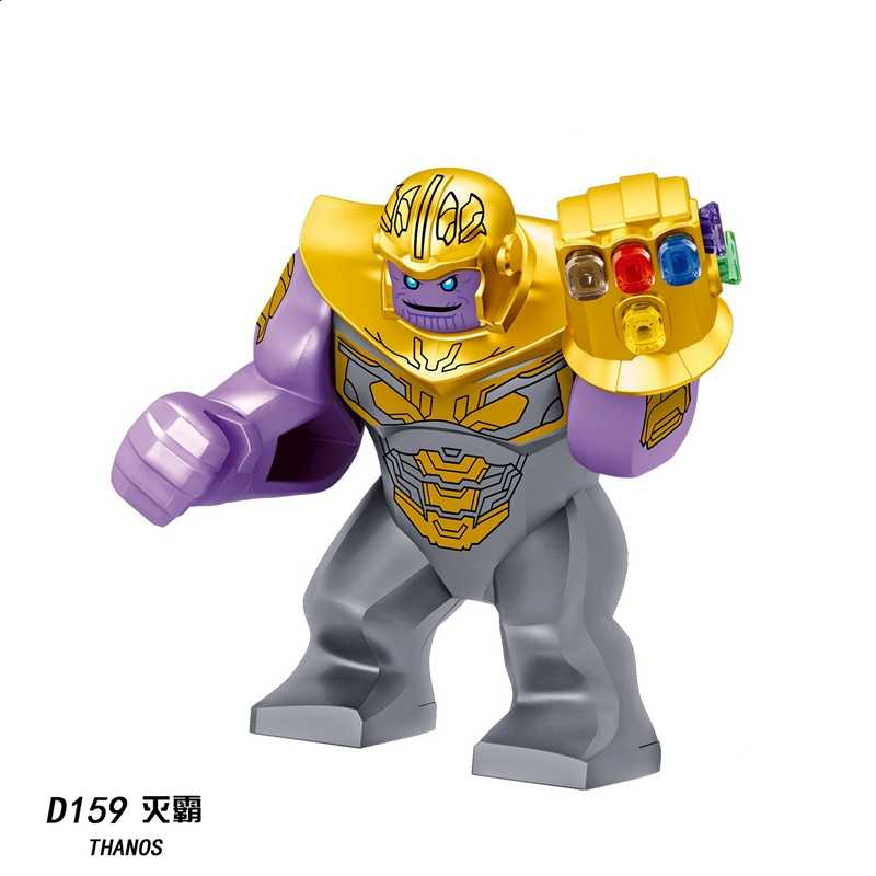 Legoing marvel avengers endgame homem de ferro thanos hulk cavalo blocos de construção brinquedos compatíveis maravilhas legoing vingadores super-heróis