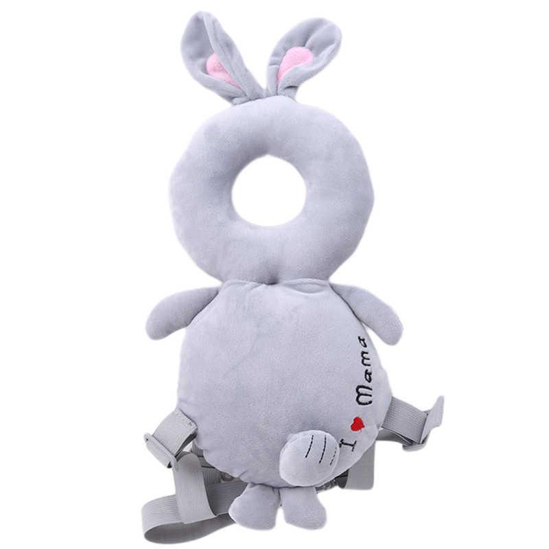 Nova criança bebê cabeça almofada de proteção/travesseiro dos desenhos animados bebê andando assistente segurança produtos bonito pescoço resistência almofada criança