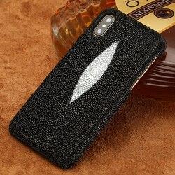 Luksusowe oryginalne skórzane etui na telefony komórkowe dla Apple iPhone X XS 11 11 Pro 11 Pro Max XR XS MAX 6 6S 7 8 Plus 5s SE 2 2020 okładka w Jednostronne etui od Telefony komórkowe i telekomunikacja na