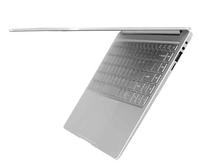 Carcasa de metal ultraslow de 13,3 pulgadas, ordenador portátil, ordenador portátil, escritorio, windows 10, con sofeware de oficina 8G 128G 256G 1000 512 GB