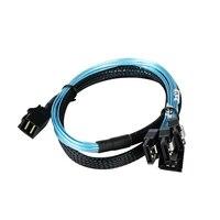 Внутренний HD Mini SAS (SFF-8643 хост) до 4 SATA (цель) кабель