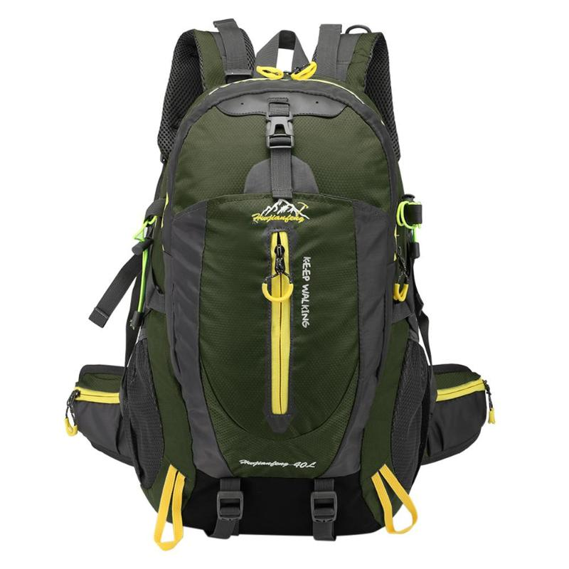 40L Waterproof Tactical Backpack Hiking Bag Cycling Climbing Backpack Laptop Rucksack Travel Outdoor Bags Men Women Sports Bag 2017 40l waterproof nylon travel hiking backpack climbing rucksack camping equipment hiking cycling outdoor sports bag
