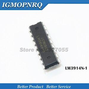 50pcs /LOT LM3914N-1 LM3914N LM3914 DIP-18 LED Lighting Drivers Dot/Bar Display Dvr new original free shipping