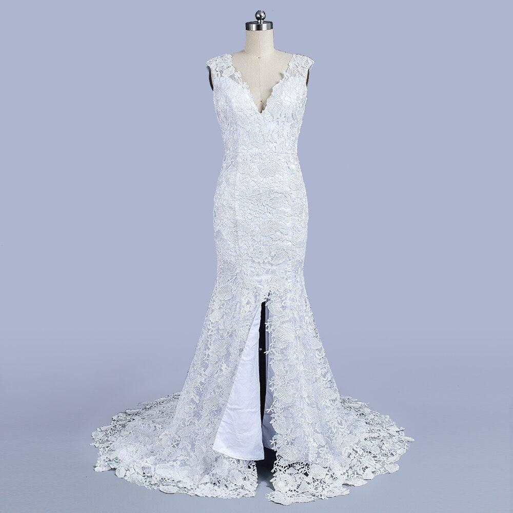 फैशन फीता मरमेड वेडिंग - शादी के कपड़े