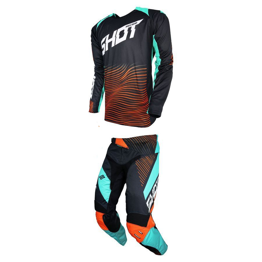 2019 MX Course Vitesse Motocross Combo de RACEWAY Hommes Racing Dirt Bike Off Road VTT Pantalon et Jersey costume de course