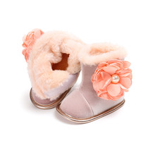 Infant Baby Boots For Girl Winter Warm Snow Boots Beautiful