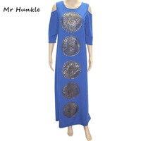 Mr Hunkle Fashion Design Women S Dress Three Quarter Off The Shoulder Vestidos Summer Maxi Dresses
