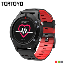 TORTOYO NEW OLED GPS Smart Watch F5 Altimeter Barometer Thermometer Bluetooth IP67 Smartwatch Wearable devices for iOS Android