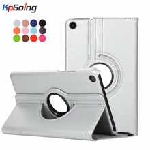 For Xiaomi Mipad 4 Case, Lichee Grain 360 Degree Rotate Full Body Protective Cover Flip PU Leather For Xiaomi Mi Pad 4 Cover стоимость