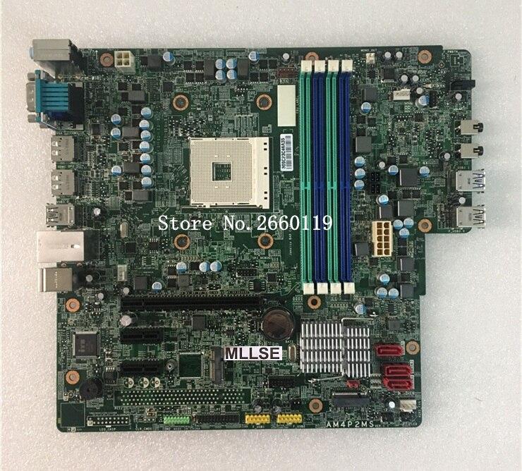 Carte mère de bureau pour carte mère AM4P2MS DDR4 AM4 M.2 950 entièrement testée