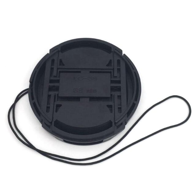 2PCS/43mm 58mm 67mm 49mm 52mm 72mm 55mm 62mm 77mm 82mm Camera Lens Cap Holder Cover Camera Len Cover For Canon image