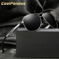 COOLPANDAS 2017 Hot Rays Aviation Sunglasses Men Classic Navy Air Force Sunglasses Driving HD Lenses Hipster Male sun glasses