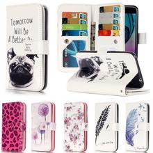 Роскошный кожаный бумажник для Coque Samsung Galaxy J3 чехол откидная крышка для Samsung Galaxy J3 2016 телефон случаях J320F J3 6 Чехол 2015