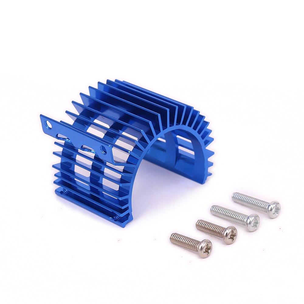 Aluminum 540//545//550 Size Motor Cooling Heatsink Top Vented For 1//10 RC ModelCar
