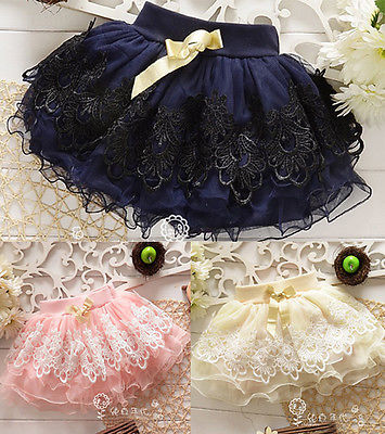 Baby Princess Summer Floral Tutu Mini skirt New Diaper Cake Tutus Girls Skirts Children Short Skirts