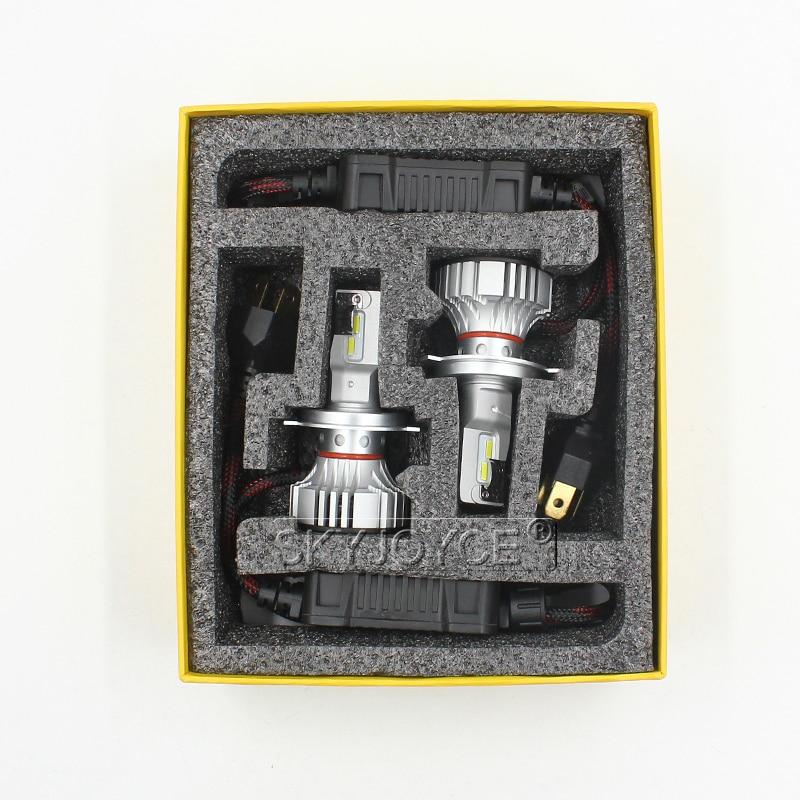 1 Set Car LED Headlight Kit F2 H4 H7 H1 H11 HB3 9005 HB4 9006 LED Bulb 72W 12000LM CSP Chips Turbo Fan 6500K Auto Headlamp Bulbs (28)