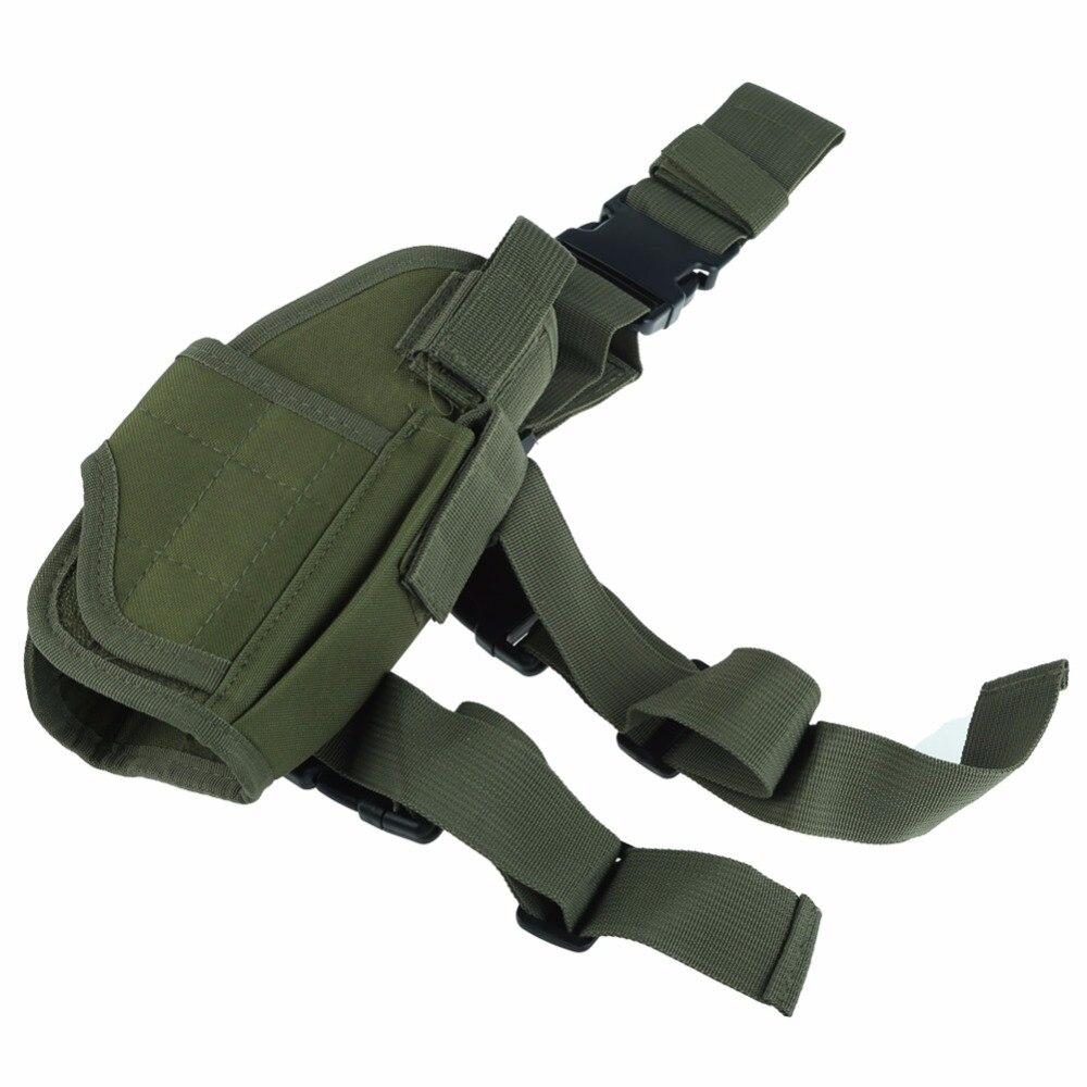 Nueva Promoción pistola táctica Tactical gota pierna Holster w/Revista Bolsa 6 colores
