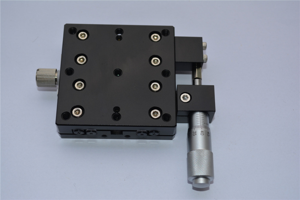 XY & Rotary Positioning Stages X Micrometer Manual Fine-tuning ...