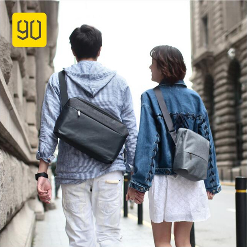 Xiaomi 90FUN Messenger Bag Water Resistant Crossbody Bags For Women Men Satchels School Business Travel Shoulder Bag