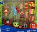 GRANDE EN EL JARDÍN de LA NOCHE FIGURA de ACCIÓN FIGURAS y NINKY NONK TREN de juguete KID TOY