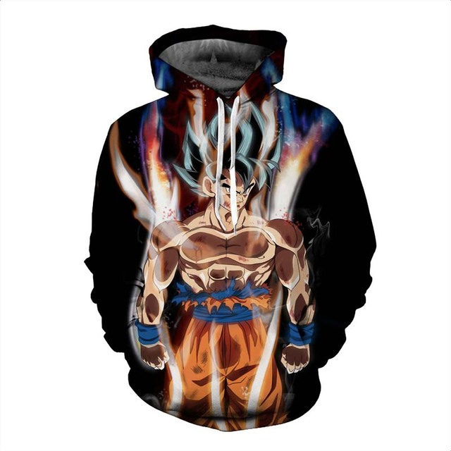 Dragon Ball Z 3D Print Pullovers Sweatshirt Hoodies