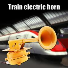 12V 24V 126DB Super Loud All Metal Train Air Horn No Need Compressor Loundspeaker for Truck Boat Lorry Car Vehicle