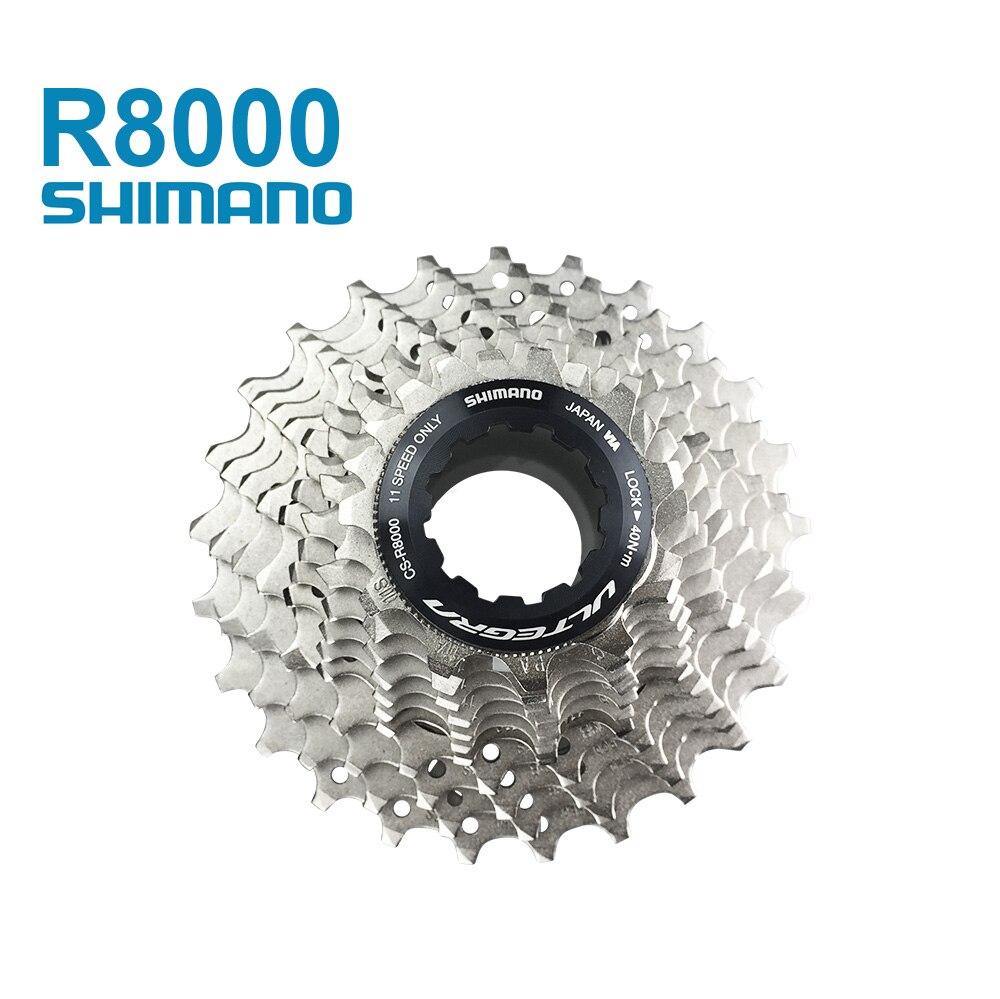 где купить SHIMANO CS-R8000 6800 5800 ultegra 11s cassette cycling road bicycle groupsets carbon bike freewheel 11-25/12-25/11-28/11-32 по лучшей цене