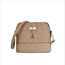 Shoulder Bags Messenger Bag Leather Small Shell Bags Famous Brand Crossbody Bag Deer Spliced Collision Color Woman Handbag 30