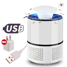USB Powered Mosquito Killer DC5V 5W Electric Home Bug Zapper UV Light Insect Trap Lamp Anti-mosquito Pest Repeller