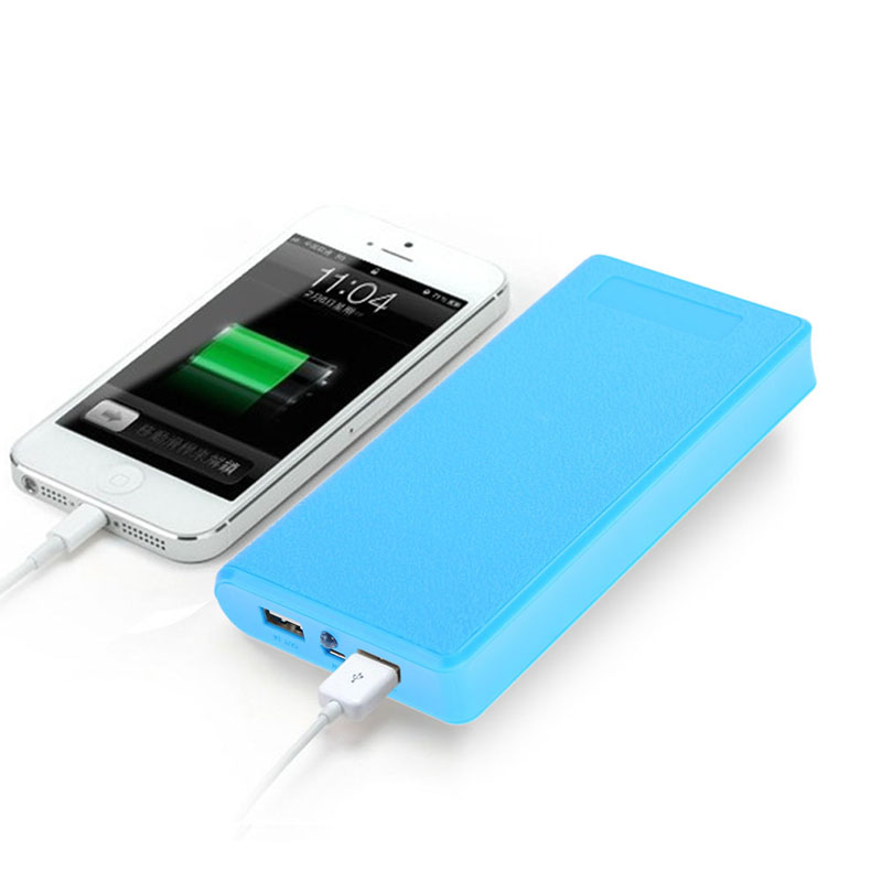 Hot Sale 6x 18650 Power Bank Battery Case 18650  Box Charger Bank For