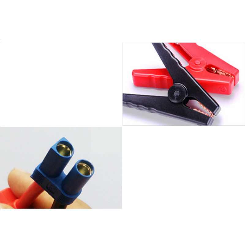 Detail Feedback Questions about EC5 Connector 12V Alligator Clips