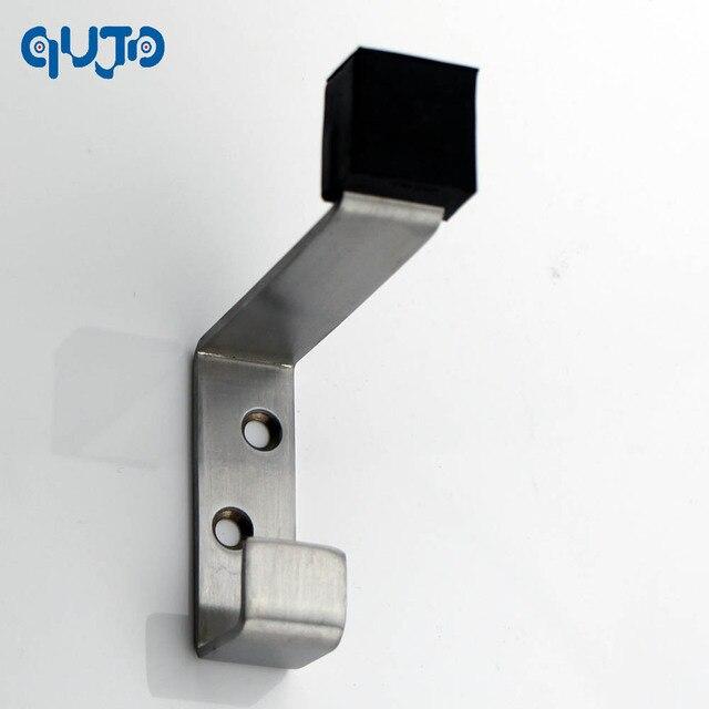 304 Stainless Steel Door Stopper For Coat And Hat Hook With Door Stop  Hanging Up Coats