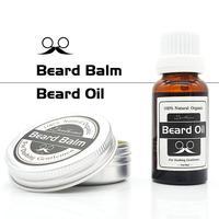 BellyLady Natural Ingredient Multi Functional Men Care 30g Beard Hair Wax 20ml Beard Oil Essence Organic