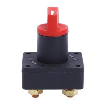 12V 100A Car Master Battery Isolator Disconnect Rotary Cut Off Power Kill Switch ON/OFF for Boat Camper Caravan Yacht Accessory image