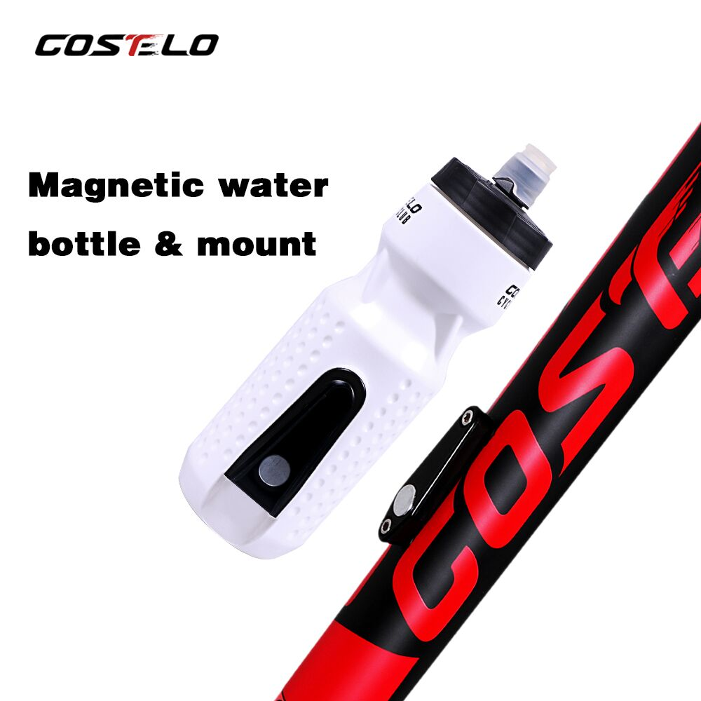 Costelo cycling Club Ciclismo Bicicleta Bicicleta Botellas de agua Botella de agua para deportes al aire libre, 710 ml Escuela de botella de agua al presionar