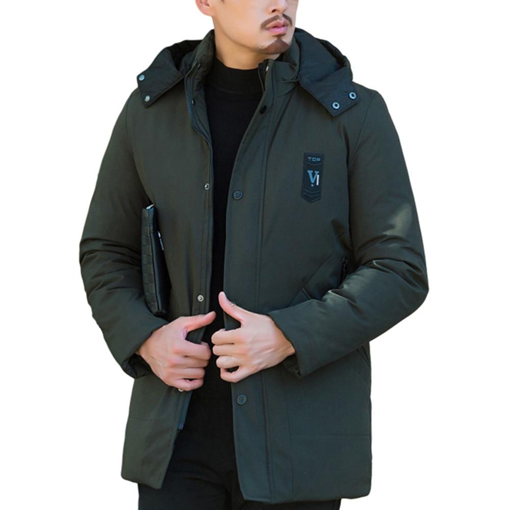 vert 2019 Des Manteau Bleu Occasionnel Rembourré 80jk Homme Épais marine Hommes Hiver Noir Vêtements Vestes Manteaux Parkas Chaud xnwfZxqFr