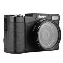 11.11 sale AMKOV CDR2 Digital Cameras professional Cameras HD Camcorders DSLR Cameras Wide Angle Telephoto Lens Camara Digital