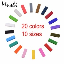 Watchbands Strap Loop ring Silicone Rubber Black Watch Bands Accessories Holder 20 22mm Mens Locker Watch Band 20  color 4PCS