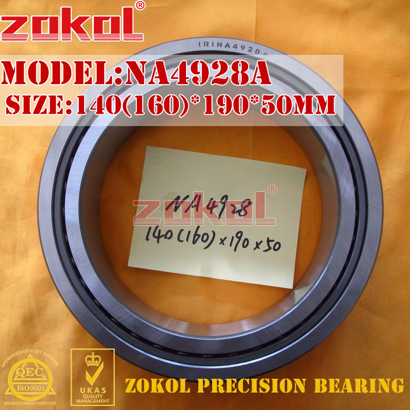 ZOKOL bearing NA4928 A NA4928A Entity ferrule needle roller bearing 140(160)*190*50mm