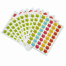 10 Sheets Lot 9 12 5cm Mini Paper Children Toys Stickers Five Pointed Star Sticker School Teachers Rewards