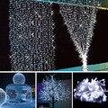 10 M 100 LED String de Hadas de Navidad luces de La Boda Del Partido de Navidad Decoración Al Aire Libre Luz de La Lámpara 220 v 6 w impermeable iluminación de tira de LED